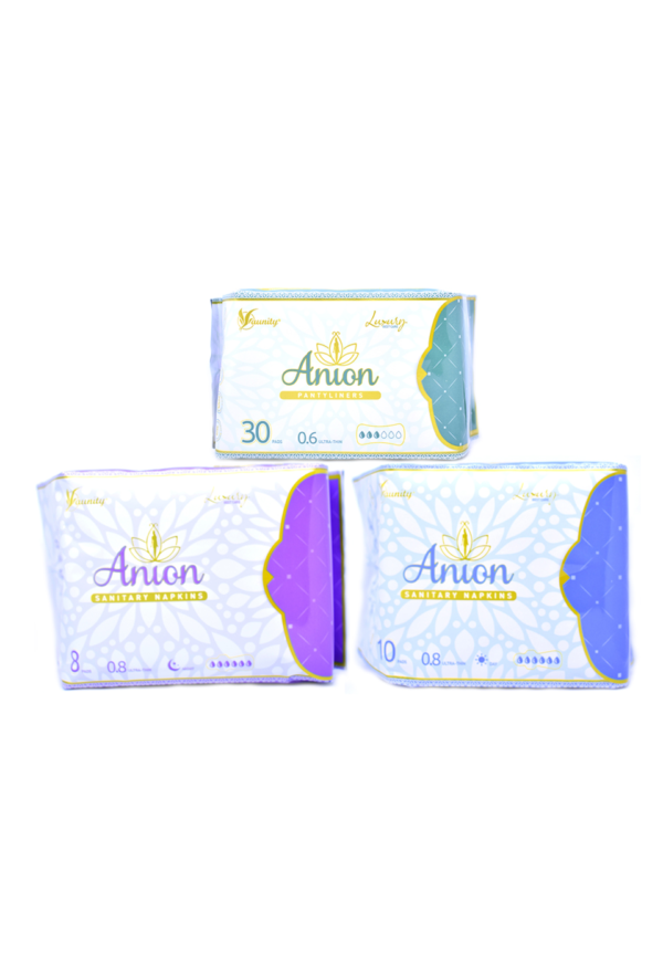 Set combinat de absorbante Anion Luxury